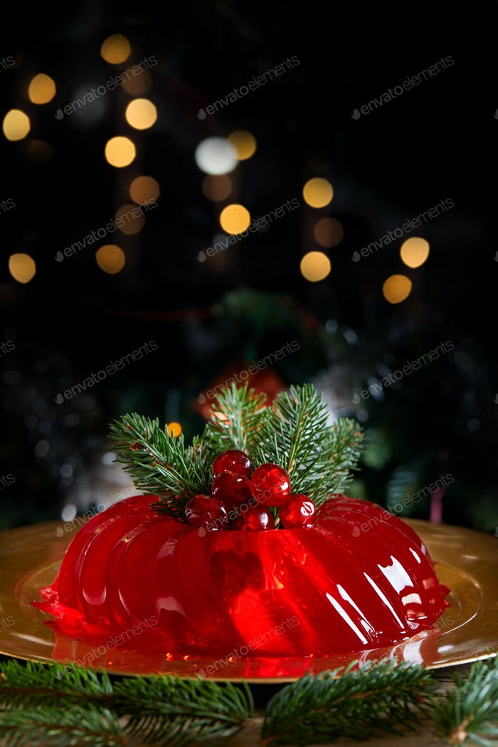 Red Christmas Jelly