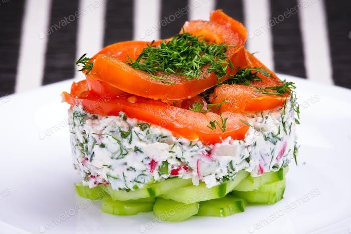 Spring vitamin salad