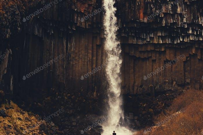 Beautifulwild nature of Iceland