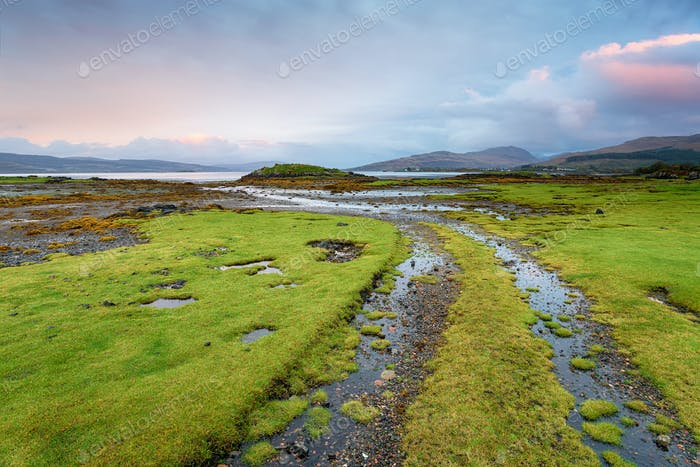 Salen Bay on the Isle of Mull