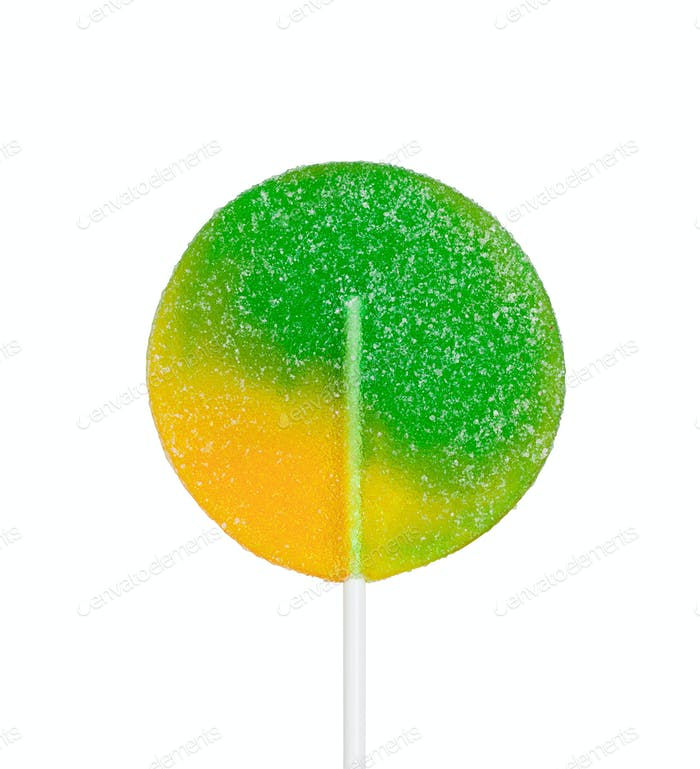 Large lollipop on stick