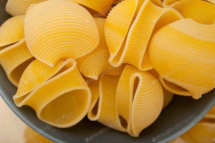 Italienische Schnecken-Lumaconi Pasta