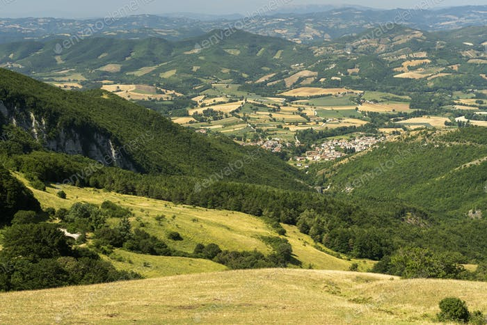 Landscape near Monte Cucco, Marches, Italy