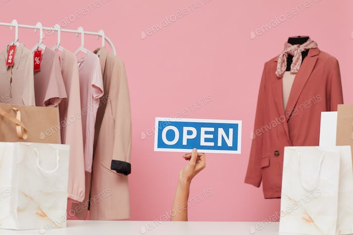 Shop is opening