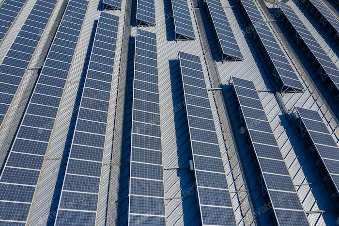 Solarpaneelanlage