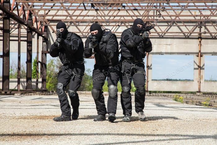 Fuerzas especiales en Acción