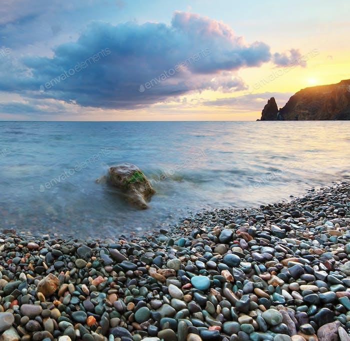 Beautiful seascape panorama
