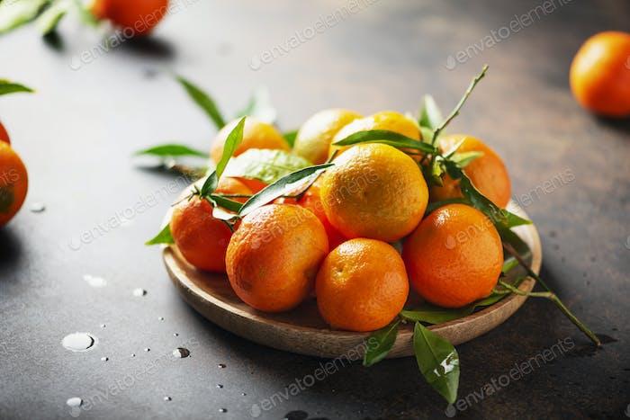 Süße Mandarinen