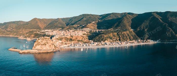 Scilla a little city in Calabria