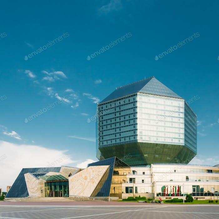 MINSK, BELARUS -National Library Of Belarus In Minsk