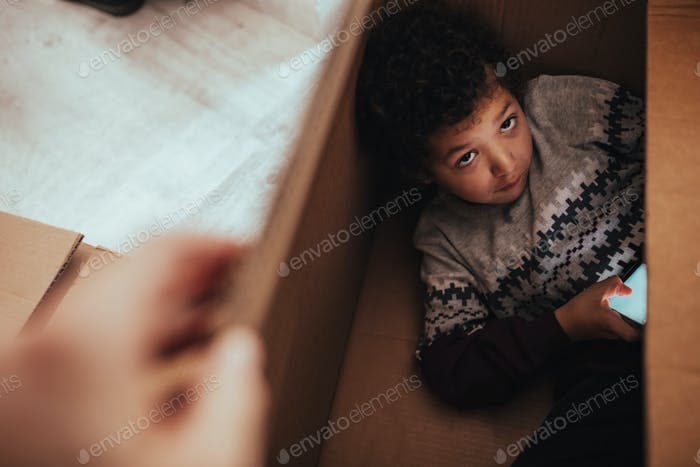 Wo hast du den kleinen Kerl versteckt?