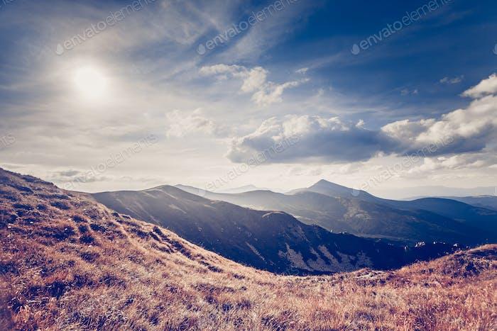 Bergsommerlandschaft