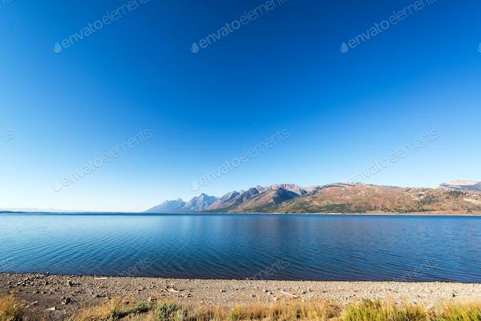 Jackson Lake Weitwinkel