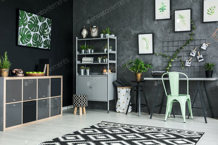 Modernly designed apartment