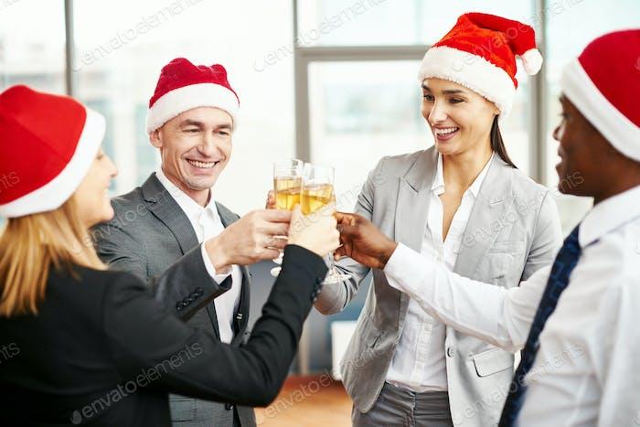 Christmas booze
