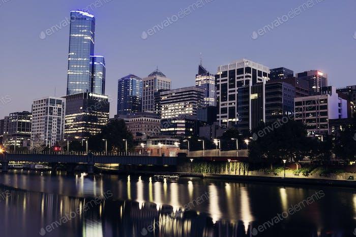 Melbourne - Sonnenaufgang