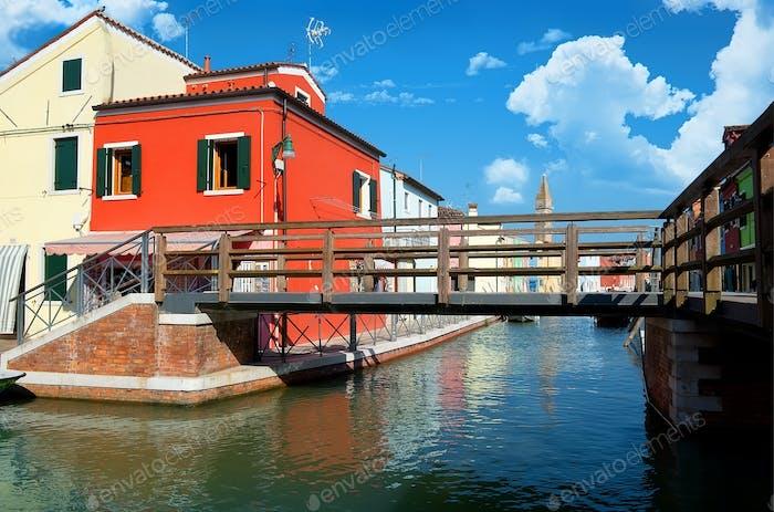 Brücke auf Burano
