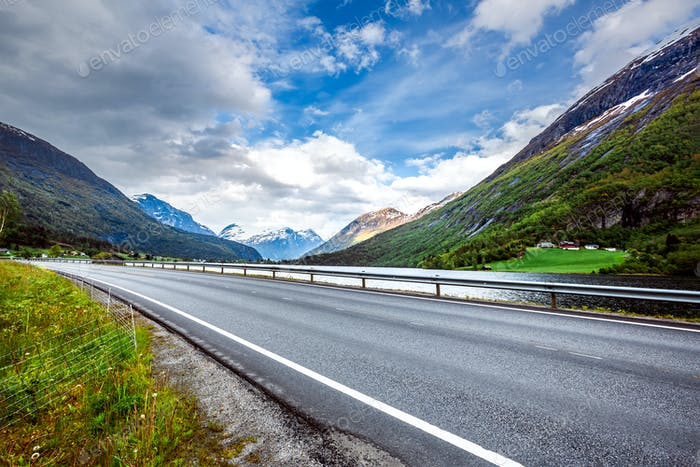 Road in Norway Beautiful Nature Norway