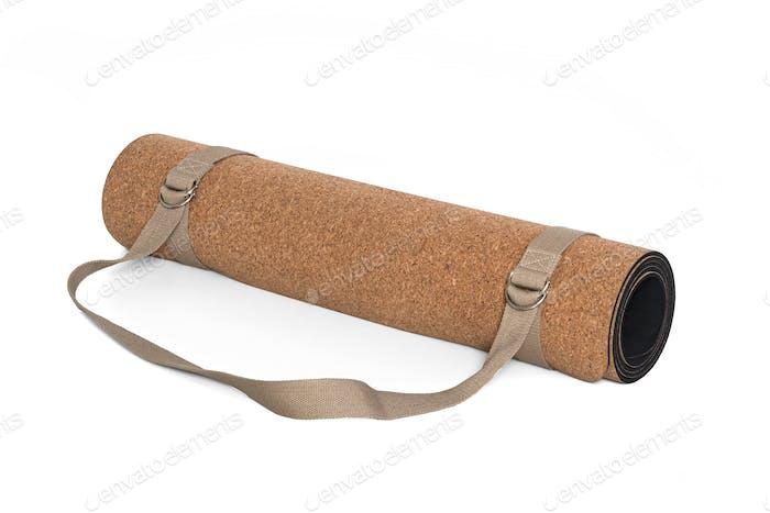 Cork Yoga Mat With Strap, Premium Eco Friendly