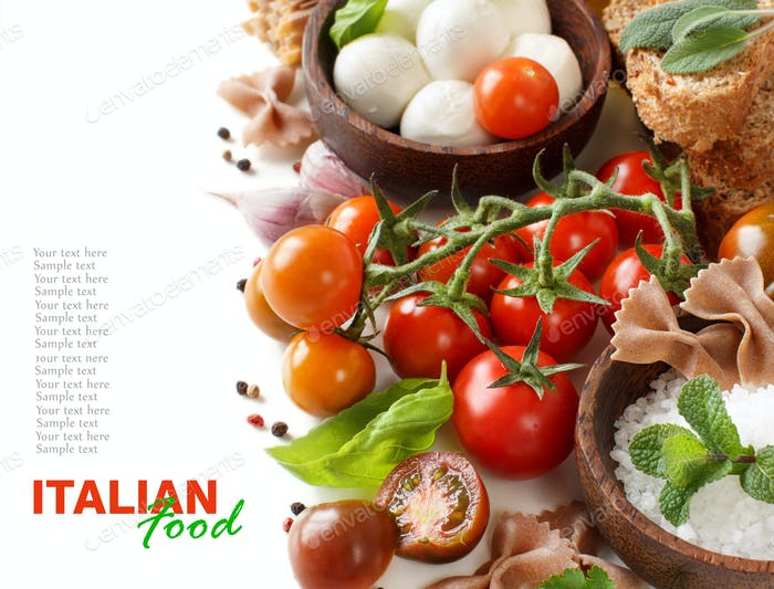 Italian cooking ingridients
