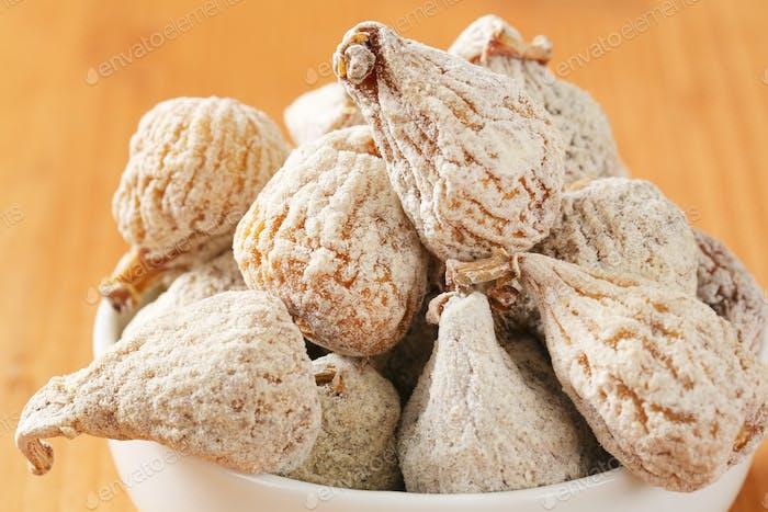 Organic dried figs