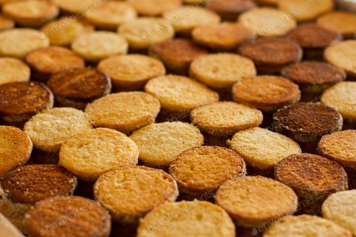 Filas de cookies