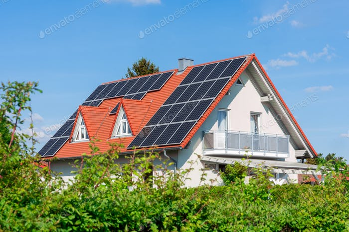 Alternative Energie für ein innovatives Haus