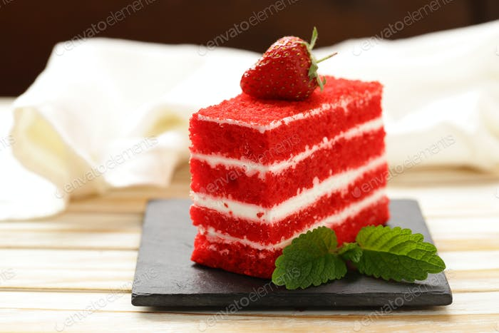 Piece of Delicious Cake