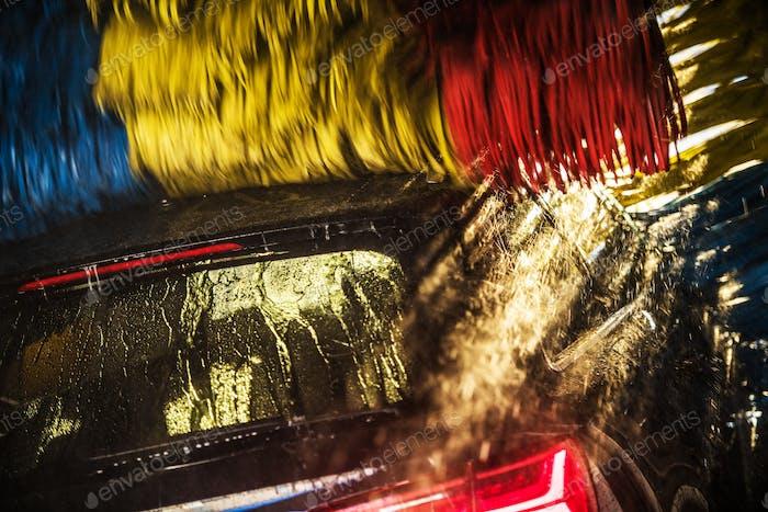 Modern Automatic Car Wash