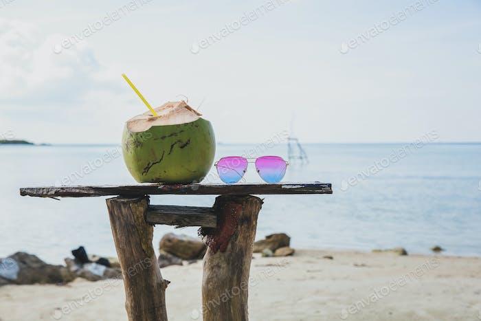 Summer Holiday on Beach