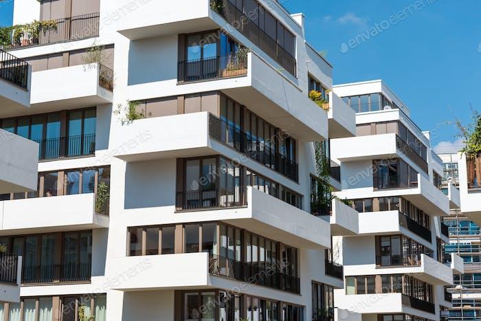 Modern blocks of flats in Berlin