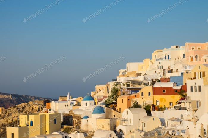 Beautiful Oia, Santorini
