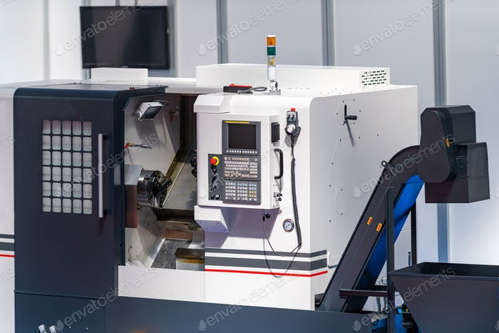 CNC automated manufacturing machine