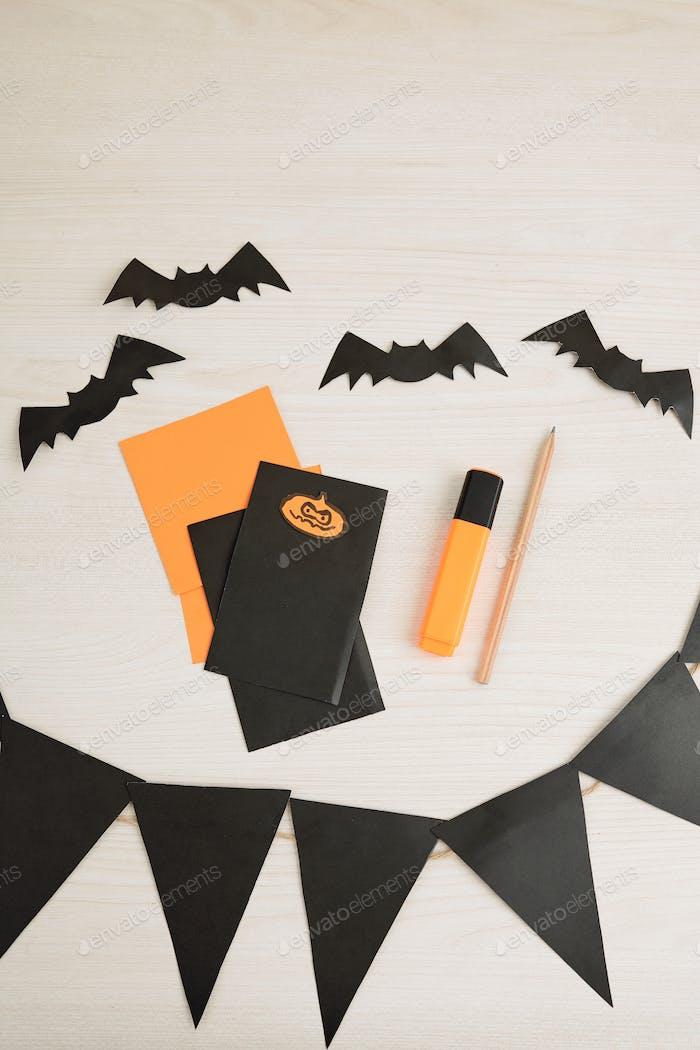 Halloween-Party-Einladungen
