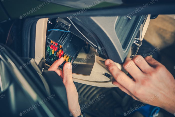 Checking Car Fuses