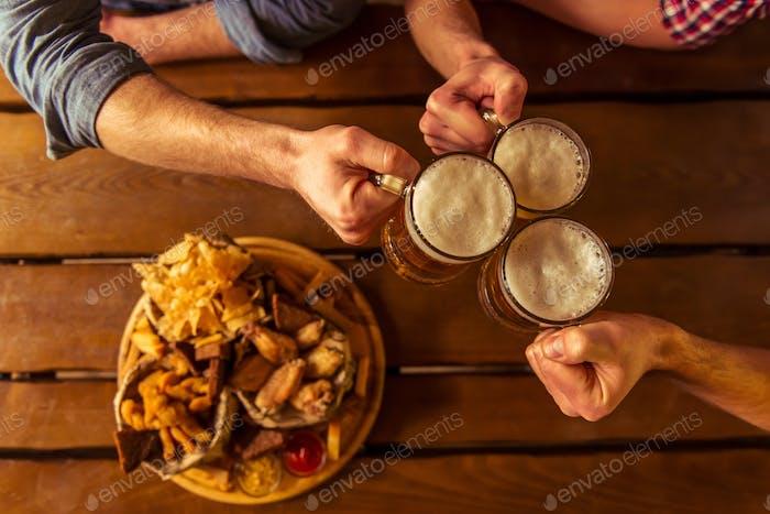 Snack und Bier
