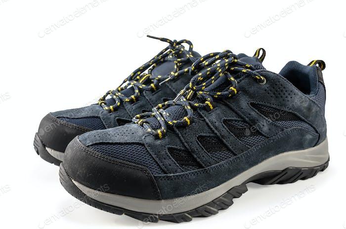 Pair of trendy sneakers
