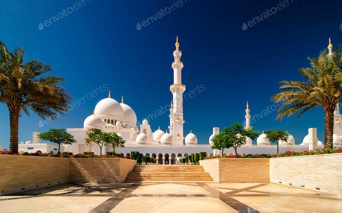 Sonnige Moschee