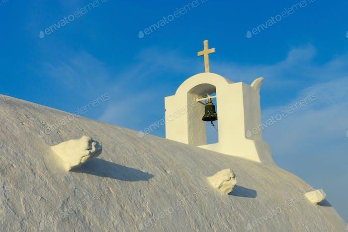 Dach einer orthodoxen Kirche