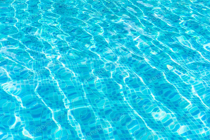 Abstract pool water texture for background