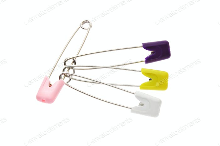 multicolor safety pins