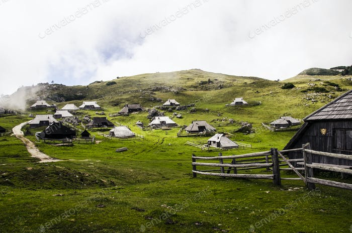 Cottages on the Meadow