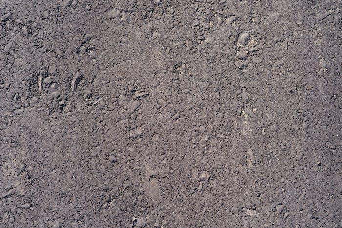 Graue Asphalt-Textur