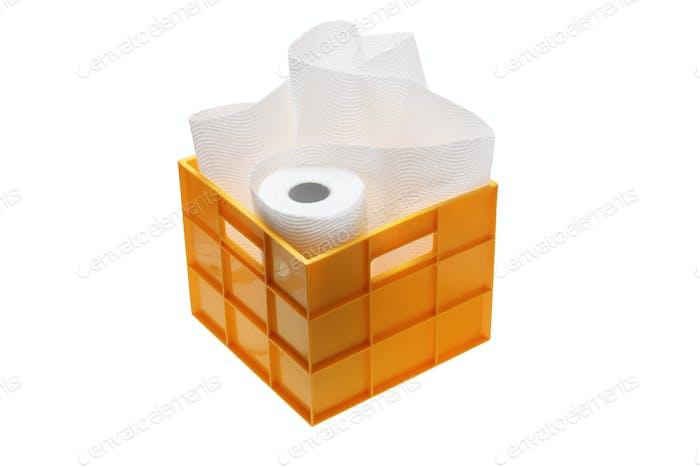 Paper Towel in Storage Box