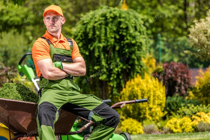 Landscaping Industry Worker