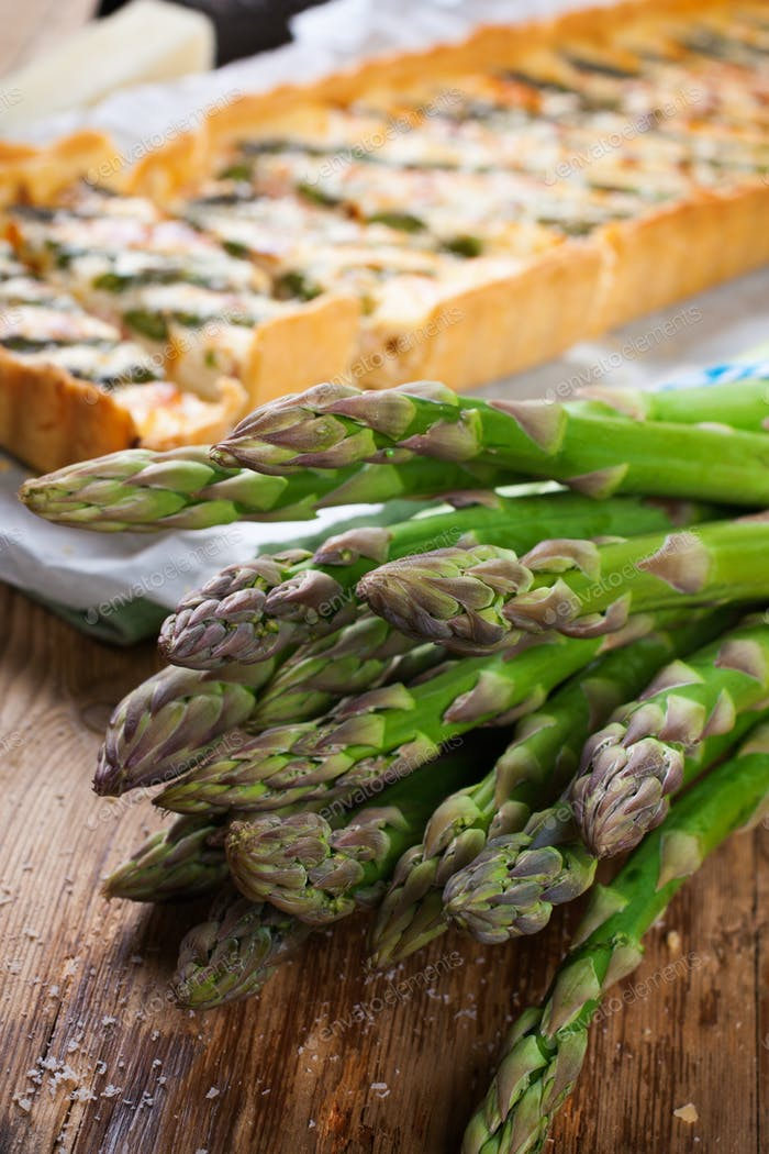 Asparagus for home made asparagus savory tart