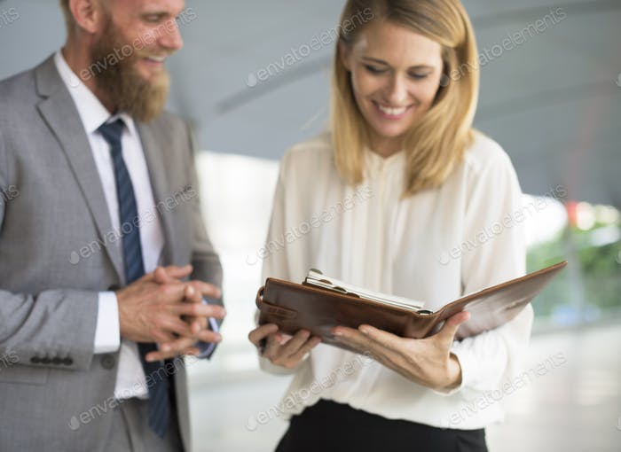 Business Talk Men Women Agenda