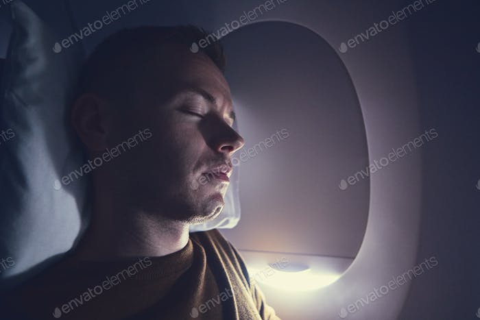 Sleep during flight