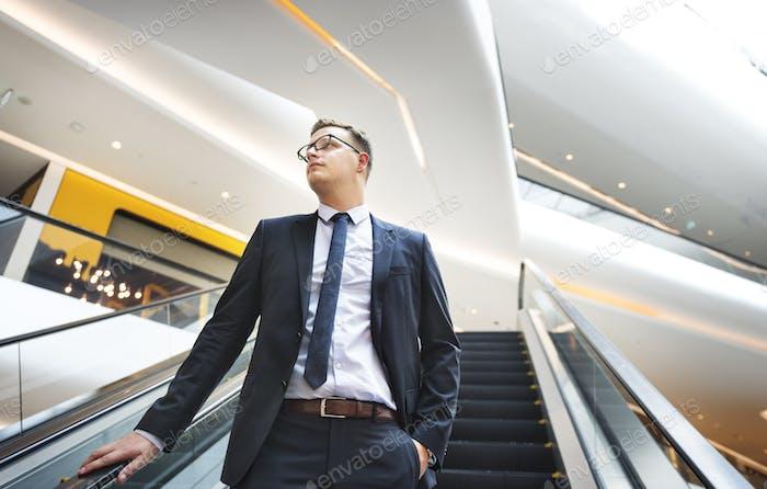 Geschäftsmann Work Leader Business Executive Konzept