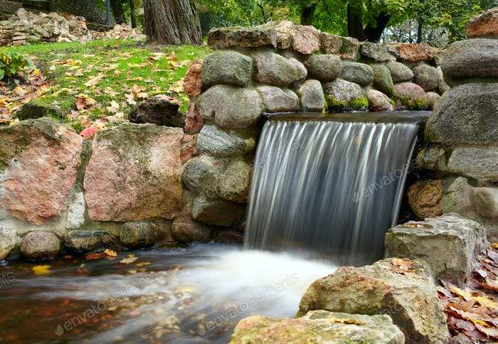 Cascade in the park